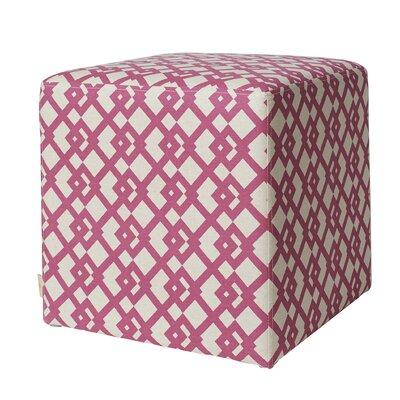 Jennifer Taylor William Accent Cube Ottoman