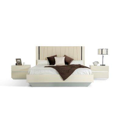 VIG Furniture Modrest Luxor King Platform 3 Piece Bedroom Set (Set of 2)