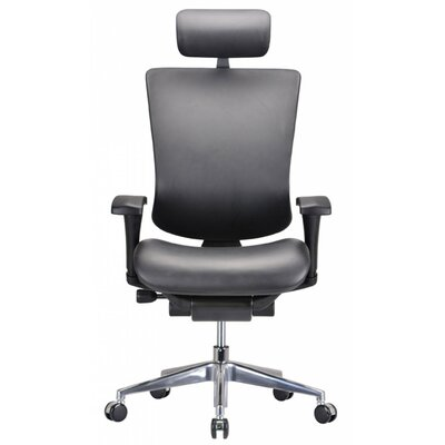 Wade Logan Belafonte High-Back Leather Executive Chair