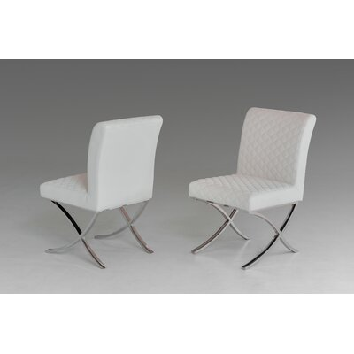 Wade Logan Patterson Modern Parsons Chair (Set of 2)