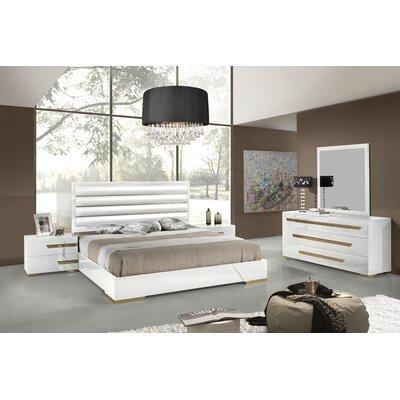 VIG Furniture Platform 5 Piece Bedroom Set