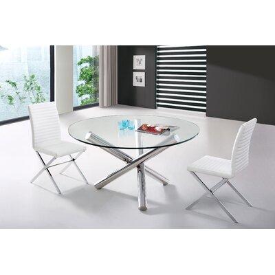Wade Logan Calmar Modern Round Dining Table