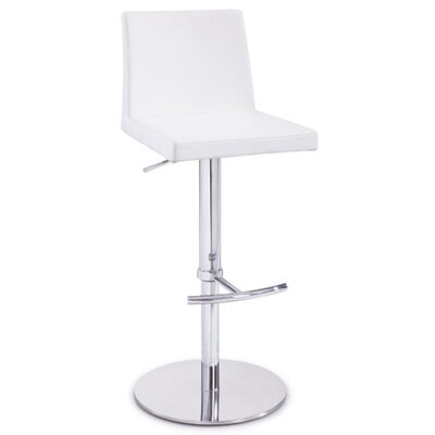 Wade Logan Calmar Adjustable Height Bar Stool
