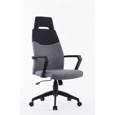 Wade Logan Stroud High-Back Leather Executive Chair
