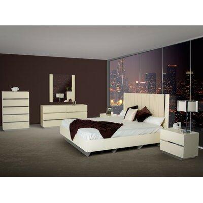 Wade Logan Kellen King Platform Customizable Bedroom Set