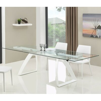 Wade Logan Calmar Extendable Dining Table