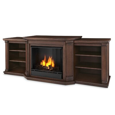 Real Flame Valmont Tv Stand With Gel Fuel Fireplace Reviews Wayfair
