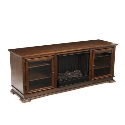 Real Flame Hudson Ventless TV Stand with Electric Fireplace