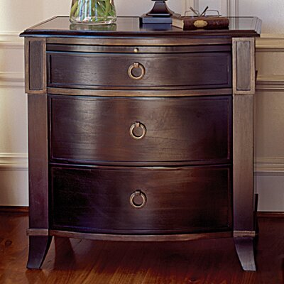 Brownstone Furniture Metropolitan 3 Drawer Bachelor's Chest