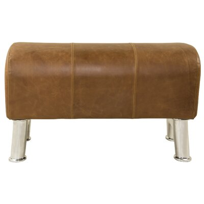 Authentic Models Pommel Upholstered Bedroom Bench
