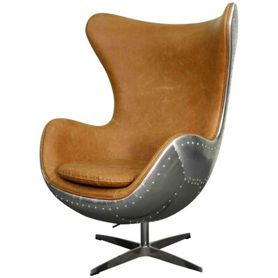 New Pacific Direct Axis Swivel Rocker Lounge Chair