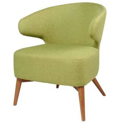 New Pacific Direct Brinsley Fabric Barrel Chair