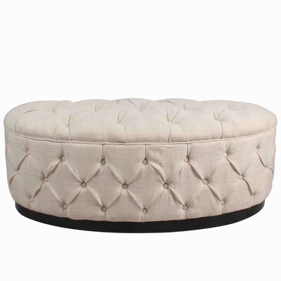 New Pacific Direct Everly Oval Ottoman