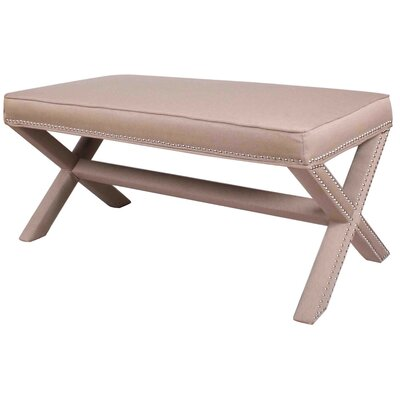 New Pacific Direct Marguerite Upholstered Bench
