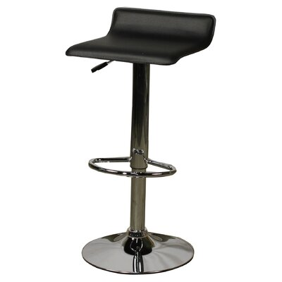 New Pacific Direct Nova Adjustable Height Bar Stool with Cushion (Set of 2)