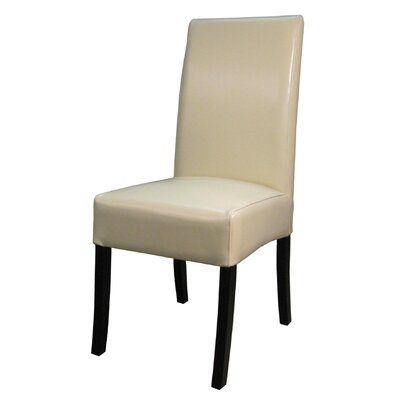 New Pacific Direct Valencia Leather Side Chair (Set of 2)