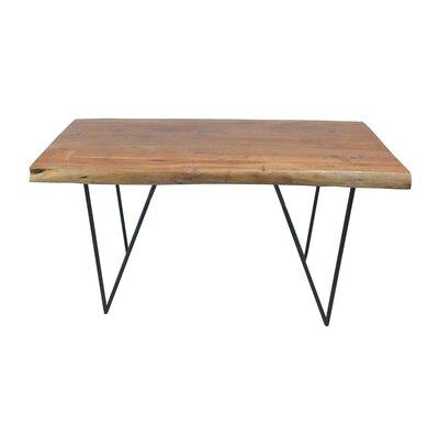 BIDKhome Bino Wood and Iron Dining Table