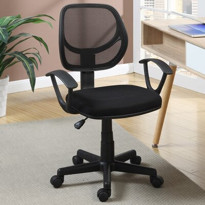 Poundex Mid-Back Mesh Task Chair with ..