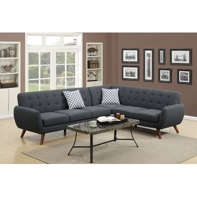 Poundex Bobkona Galiana Sectional