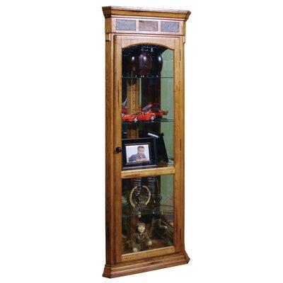 Sunny Designs Sedona Corner Curio Cabinet