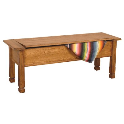 Sunny Designs Sedona Wood Storage Bench
