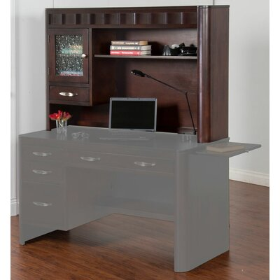 Sunny Designs Monterey 2 Piece Standard Desk Office Suite