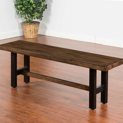 Sunny Designs Weathered Pine Wood Kitchen Bench