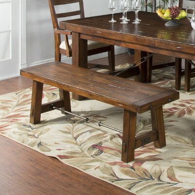 Loon Peak Hardin Wood Kitchen Bench