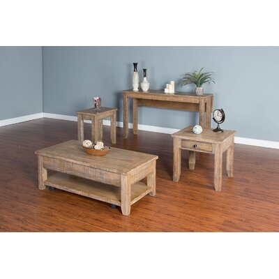 Sunny Designs Driftwood Coffee Table Set