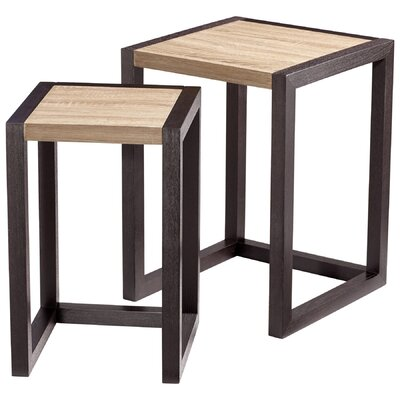 Cyan Design Becket 2 Piece Nesting Tables