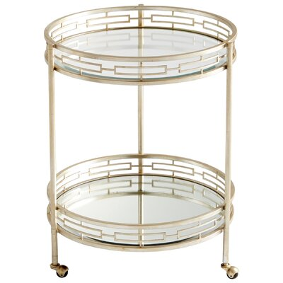 Cyan Design Gilded Meridian Serving Cart