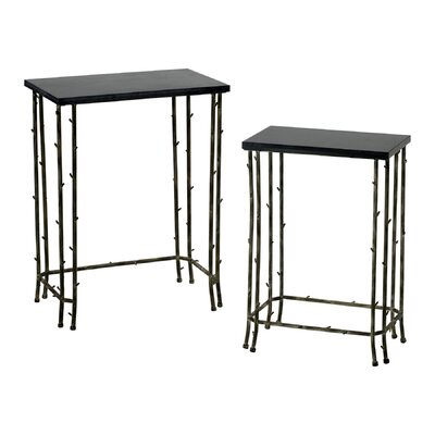 Cyan Design Bamboo 2 Piece Nesting Tables