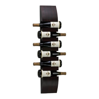 Cyan Design 6 Bottle Wall Mounted Wine Rack