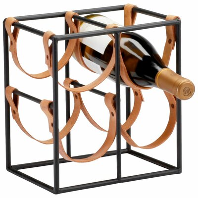 Cyan Design Small Brighton 4 Bottle Tabletop Wine Rack