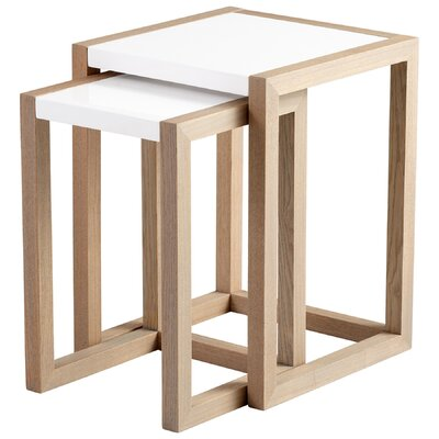 Cyan Design Becket 2 Piece Nesting Table