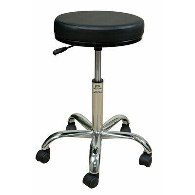 Oakworks Height Adjustable Professional Stool with Swivel Seat