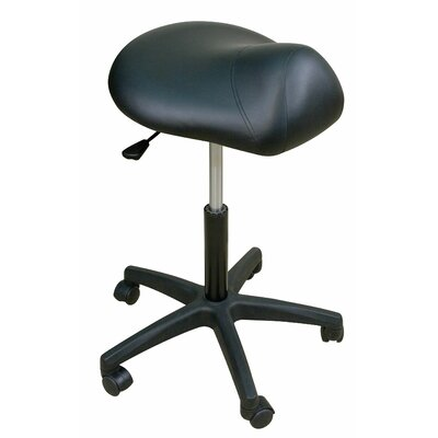 Oakworks Height Adjustable Premium Saddle Stool