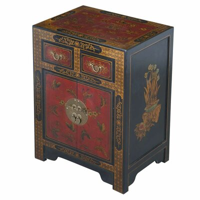 EXP Décor Handmade Oriental Antique End Table