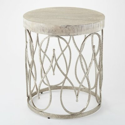Bungalow Rose Clairebella End Table
