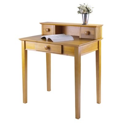 Luxury Home Studio Writing Desk with Hutch