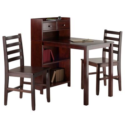 Luxury Home Tyler 3 Piece Pub Table Set