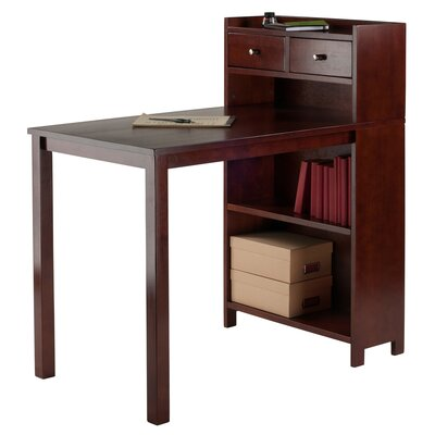 Luxury Home Tyler Table with Storage Shelf