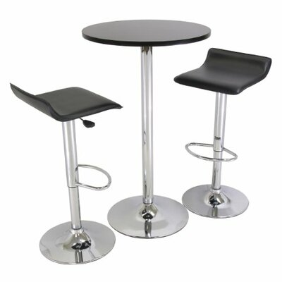 Luxury Home Spectrum 3 Piece Pub Table Set