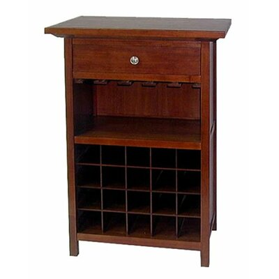 Luxury Home Regalia 20 Bottle Floor Wine Cabinet