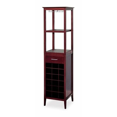 Luxury Home Tower 18 Bottle Floor Wine Cabinet