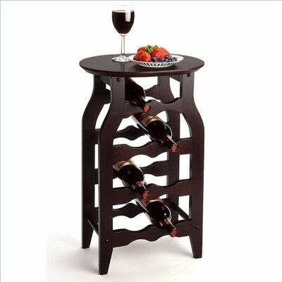 Luxury Home 8 Bottle Floor Wine Rack