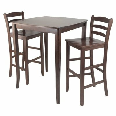 Luxury Home Inglewood 3 Piece Pub Table Set