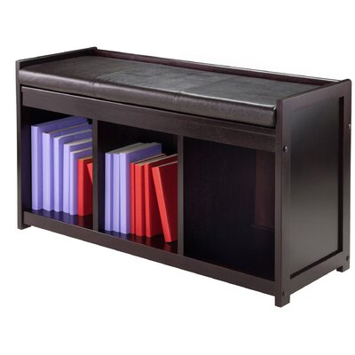Luxury Home Addison Wood Storage Bench