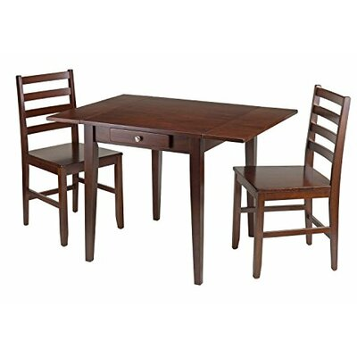 Luxury Home Hamilton 3 Piece Dining Set