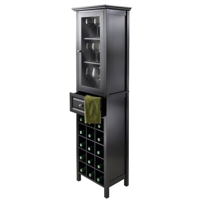 Luxury Home 15 Bottle Floor Wine Cabinet